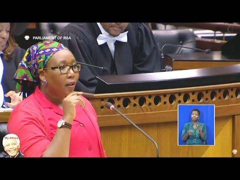 """""""Social Development Minister Bathabile Dlamini Must Go"""" - EFF"""