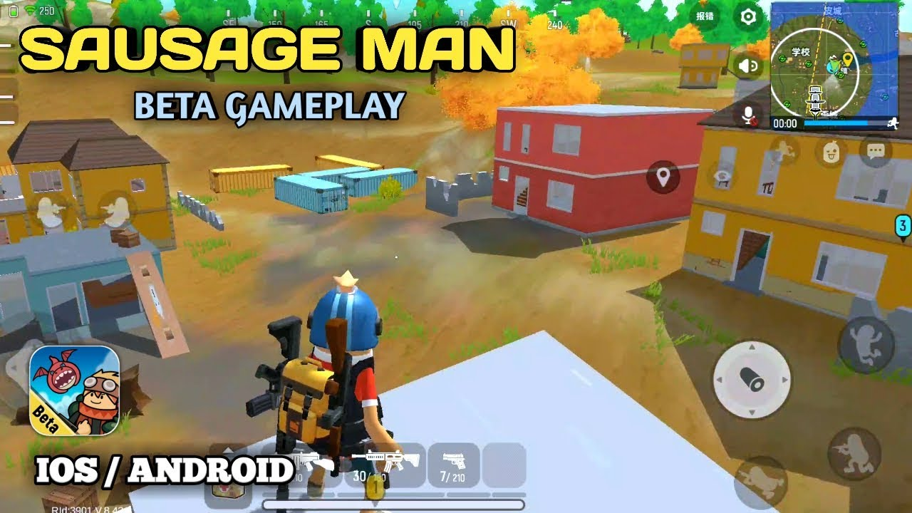 Sausage Man (Early Access) (Test) Gameplay [Android/IOS] - YouTube