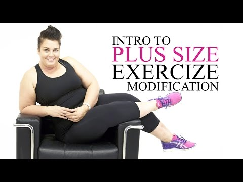 Introduction to Plus Size Exercise Modifications  workouts  Episode 1
