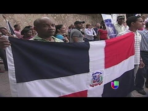 Indignación en República Dominicana por nacionalidad de hijos de haitianos -- Noticiero Univisión