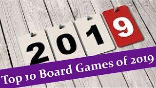 Top 10 Board Games of 2019