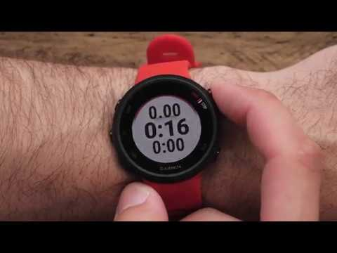 Support: Getting Started With  Garmin Forerunner® 45/45S