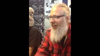 Lamb of god in-store album signing at vintage vinyl