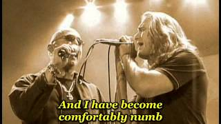 Dream Theater & Queensryche - Comfortably numb ( Cover Pink Floyd ) - with lyrics