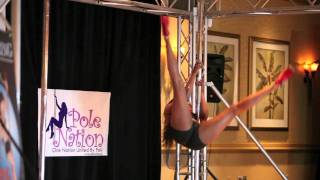 Miss Texas Pole Dance Competition 2011 - Final - There Goes My Baby