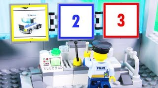 LEGO Experimental Cars and Police Car STOP MOTION LEGO Police Monster Truck | LEGO | Billy Bricks
