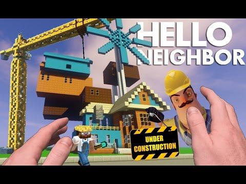 Realistic Minecraft: Hello Neighbor - Alpha 3 NEW HOUSE!