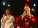 ABBA SOS Live Disco 1975 - Watch the kiss at the end!