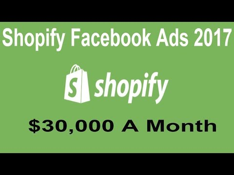 Shopify Facebook Ads 2017  | How to Promote Your Shopify Store  with Facebook