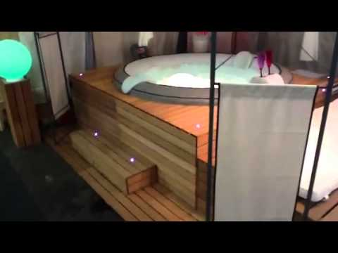 jacuzzi gonflable youtube. Black Bedroom Furniture Sets. Home Design Ideas