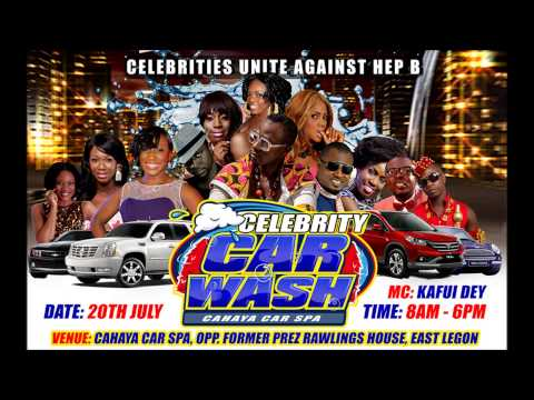 The celebrity car wash