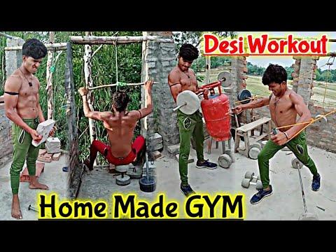 special home gym workout  home made gym  motivational