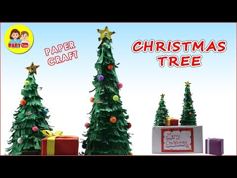 How To Make Christmas Tree With Paper | Paper Crafts | DIY X-MAS Tree