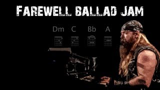 Backing Track of the Week: 6 Farewell Ballad