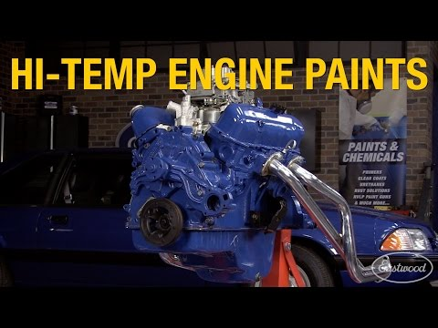 High Temp Engine Paint & Coatings - 2K Primers to OEM Color Paints - Eastwood