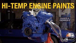 High Temp Engine Paint Coatings