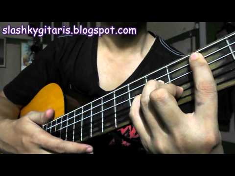 Belajar kunci gitar B minor untuk pemula
