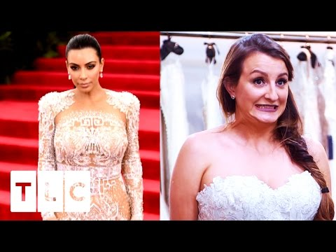 Glamorous Bride Wants To Be A Kardashian | Say Yes To The Dress UK