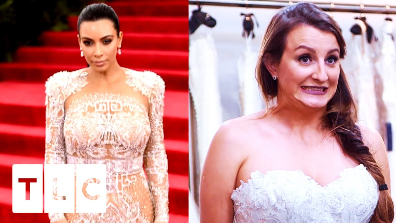 Glamorous Bride Wants To Be A Kardashian | Say Yes To The Dress UK ...