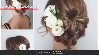Strzyżenie damskie i męskie fryzury ślubne Hollywood Tarnów