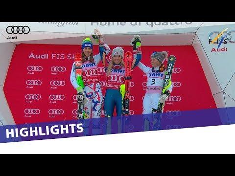 Highlights | Shiffrin reigns supreme in Slalom at Killington | FIS Alpine
