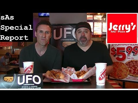 sAs Special Report: UFO Sighting at Jerry's Subs & Pizza