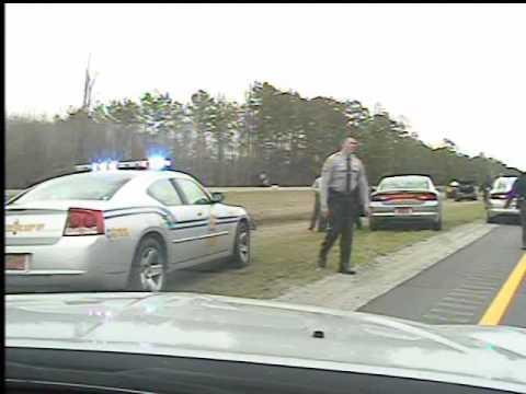 Black man shot by SHP on NC Hwy 74
