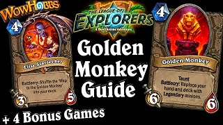 The Golden Monkey & Elise Starseeker ~ The League of Explorers Adventure ~ Hearthstone