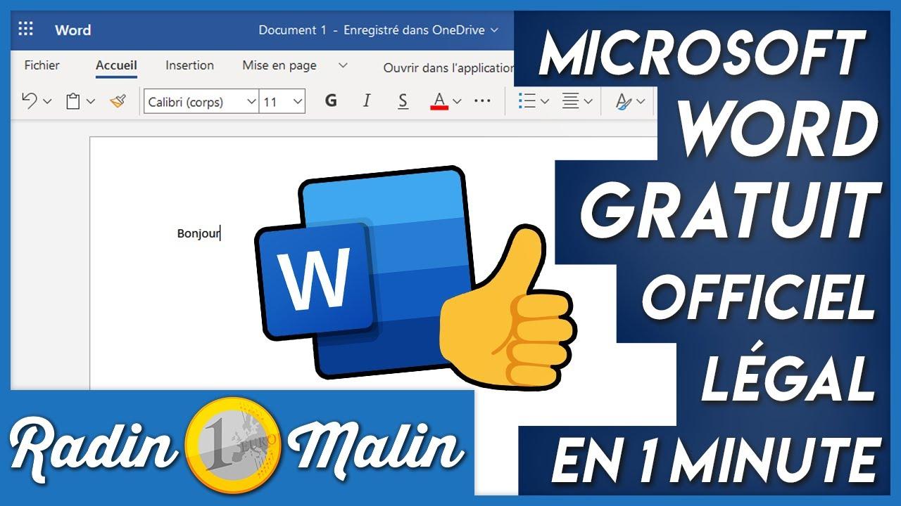 Comment Avoir Microsoft Office 2007 Gratuitement