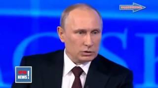 Новости сегодня 2015! Путин жестко сказал! Против кого вы оружие,и пушки тащите? Против мирных?