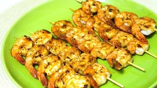Shrimp Skewers Recipe - Shrimp Kebabs - in the Kitchen With Jonny Episode 69