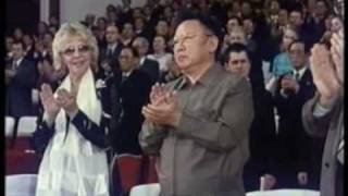 Ким Чен Ир и группа ''Берёзка'' Kim Jong Il and ''Beriozka'' group in 2.16