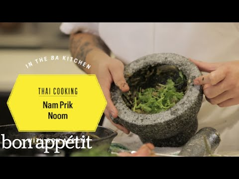 Thai Cooking: Nam Prik Noom