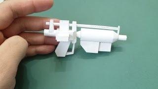 Star wars papercraft: E-5 blaster rifle