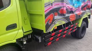 Dump Truk Dutro 130 HD, Airbrush, OTR 242 jt, Dump Truk, Surabaya Hino, Hino Truk Chassis