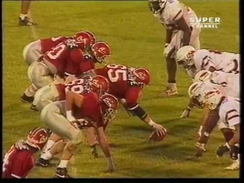 Eurobowl VII 1993 - London Olympians 42 - Amsterdam Crusaders 21