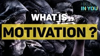 What Is Motivation -  Motivation Definition