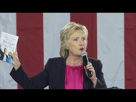 Clinton adresses the University of South Florida