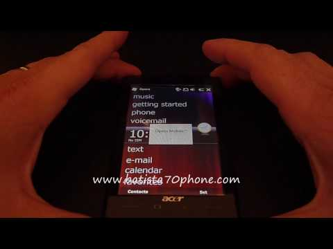 Video Review Browsers Acer Neo Touch by batista70phone