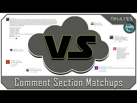 Fanalysis Lite - Comment Section Matchups