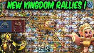 New Kingdom Rallies & Zeroed Rally Trap - Lords Mobile