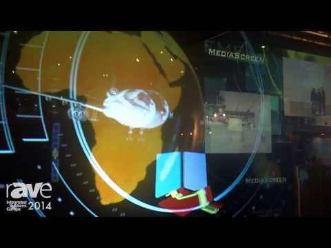ISE 2014: Media Screen Shows Its Holocube Showcase for Displaying Products