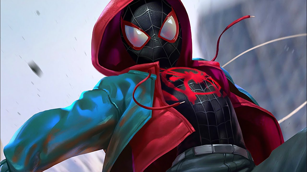 SPIDERMAN PS4 INTO THE SPIDERVERSE SUIT SILVER LINING