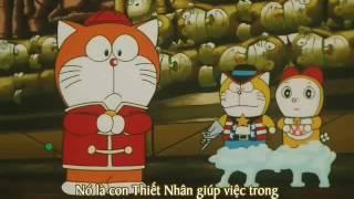 Doraemon 7 bi en un cua truong dao, tao robot de YouTube