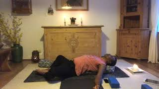 Yin yoga meridian therapy gallbladder and liver meridian