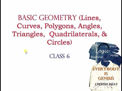 Basic Geometry (Class 6, CBSE, NCERT)