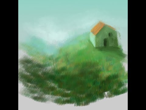 Color Dynamics demo – super quick landscape painting