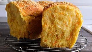 Домашний Морковный Хлеб Рецепт необычного хлеба в духовке