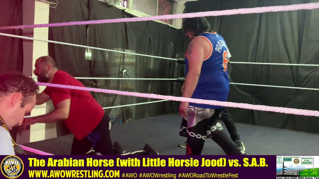AWO Road To WrestleFest 2020 The Arabian Horse vs. S.A.B.