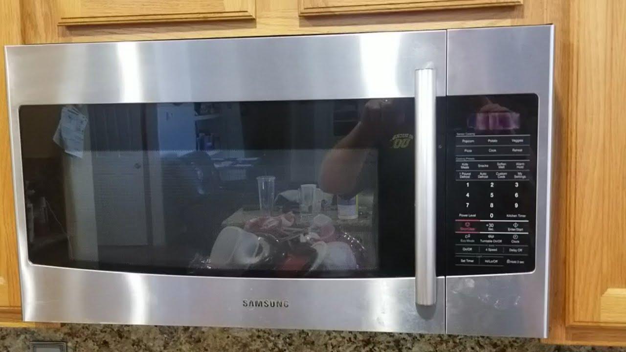 samsung microwave model smh1816s running while door open 7 fix